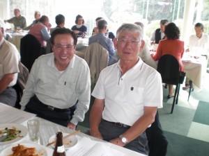 右が優勝の長谷さん、左が二位の鍬田さん